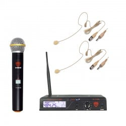 Nady 100-Channel UHF Wireless Microphone System with HM-45U Headset