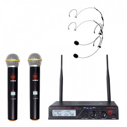 Nady 100-Channel UHF Wireless Microphone System with HM-20U Headset