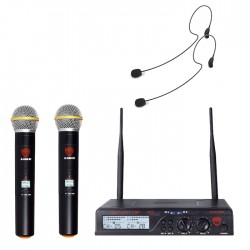 Nady 200-Channel UHF Wireless Microphone System with HM-35 Headset
