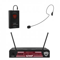 Nady High Band UHF Diversity Wireless Microphone System with HM-35 Headset