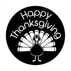 Apollo Metal Gobo 9138 Turkey Day