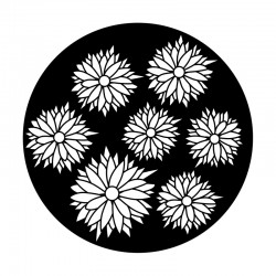 Apollo Metal Gobo 9108 Boho Flowers