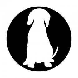 Apollo Metal Gobo 9114 Dog Silhouette