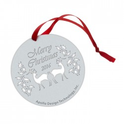 Apollo Ornament Duplicate - Christmas Reindeer
