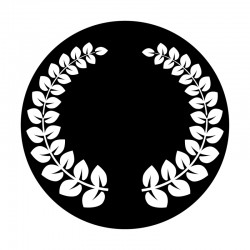 Apollo Metal Gobo 9124 Laurel Wreath