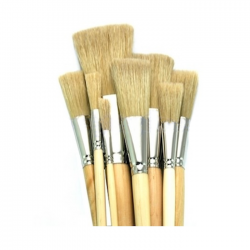 Rosco Iddings Brushes - 8 Piece Kit - 1/4in.-3in. Ferrule