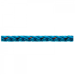 Marlow 8 Plait Pre-Stretched Traditional Rope - Diameter 6mm - Length 100m (Blue)