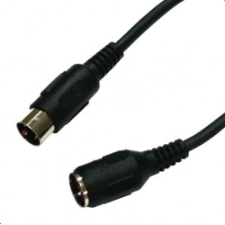 Antari 5-Pin DIN Extension Cable- 25ft.