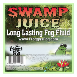 Froggy's Fog Swamp Juice - Longest Lasting Fog Fluid (330 Gallon Tote)