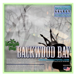 Froggy's Fog Backwood Bay - Long Lasting Fog Fluid (275 Gallon Tote)