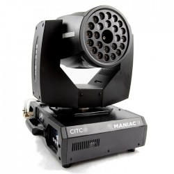 CITC Maniac II Moving Head LED Fogger w/ DMX Remote