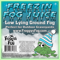 Froggy's Fog Cryo Freeze - Indoor Low Lying Ground Fog Fluid (275 Gallon Tote)