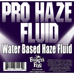 Froggy's Fog Pro Haze Water Based Fluid (330 Gallon Tote)