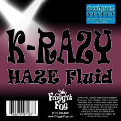 Froggy's Fog Krazy Haze Fluid for Martin K-1 Hazers