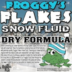 Froggy's Fog Dry Indoor/Outdoor Snow Fluid (330 Gallon Tote)