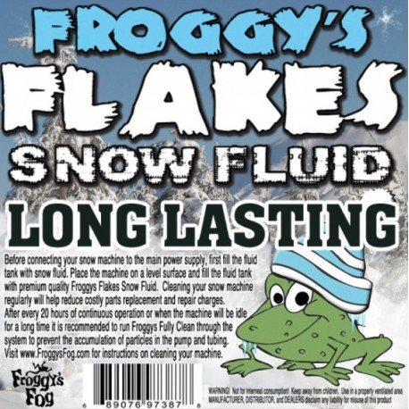 Froggy's Fog Long Lasting Outdoor Snow Fluid (275 Gallon Tote)