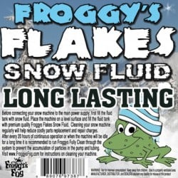 Froggy's Fog Long Lasting Outdoor Snow Fluid (330 Gallon Tote)