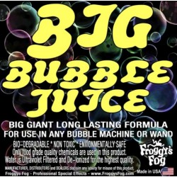 Froggy's Fog Big Long Lasting Bubble Fluid (275 Gallon Tote)