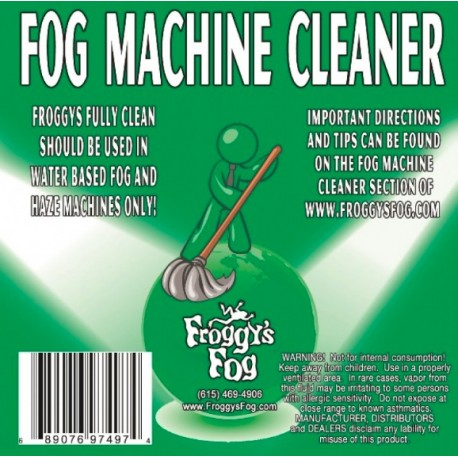 Froggy's Fog Fully Clean Fog Machine Cleaner (275 Gallon Tote)