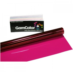 Rosco GamColor 120 Bright Pink - 20in. x 24in. Sheet