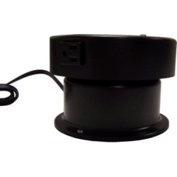 "MB 105E Motor Box w/ Rotating Electrical Outlet (4 Amp Outlet) - 12"" Masonite Top - 25 lb. Capacity"