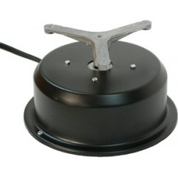 "MB 110E Motor Box w/ Rotating Electrical Outlet (4 Amp Outlet) - 12"" Steel Top - 50 lb. Capacity"