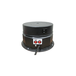 "MB 200E Motor Box w/ Rotating Electrical Outlet (8 Amp Output) - 12"" Steel Top - 200 lb. Capacity"