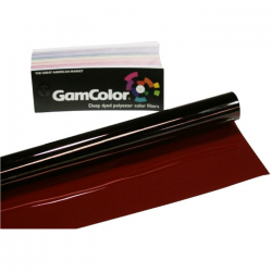 Rosco GamColor 250 Medium Red XT - 20in. x 24in. Sheet