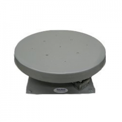 "H.D. 100 24"" Heavy Duty Turntable with 72"" Octagonal Steel Support Frame - 1 RPM - 600 lb. Capacity"