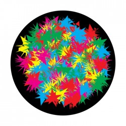 Apollo ColourScenic Glass Gobo 3506 Paint Patch