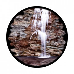 Apollo ColourScenic Glass GObo 3507 Peaceful Waterfall