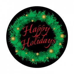 Apollo ColourScenic Glass Gobo 3499 Holiday Greetings