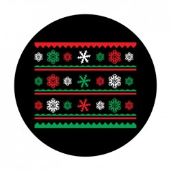 Apollo ColourScenic Glass Gobo 3511 Ugly Sweater