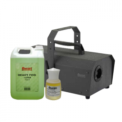 SLS Antari IP-1500-ATU 1500W Fogger w/ Fog Fluid & Rose Scent Package