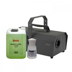SLS Antari IP-1500-ATU 1500W Fogger w/ Fog Fluid & Apple Scent Package