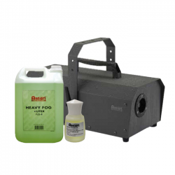 SLS Antari IP-1500-ATU 1500W Fogger w/ Fog Fluid & Lemon Scent Package