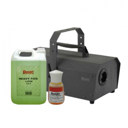 SLS Antari IP-1500-ATU 1500W Fogger w/ Fog Fluid & Strawberry Scent Package