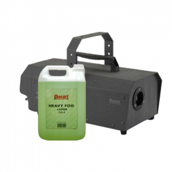 SLS Antari IP-1500-ATU 1500W Fogger & Fog Fluid Package