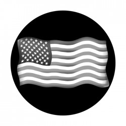 Apollo SuperRes High End Glass Gobo 1392 U.S. Flag