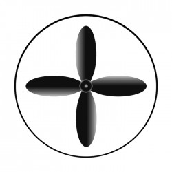 Apollo SuperRes High End Glass Gobo 1053 Industrial Fan