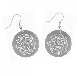 Apollo Earrings - Scrolling Leaves