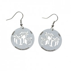 Apollo Gobo Earrings - Gift Boxes
