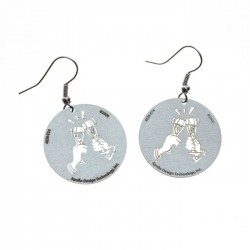 Apollo Gobo Earrings - Champagne Toast