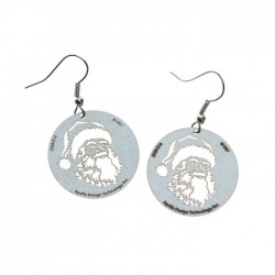 Apollo Gobo Earrings - Santa