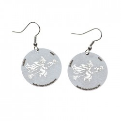 Apollo Gobo Earrings - Flying Witch