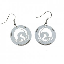 Apollo Gobo Earring - Halloween Cat