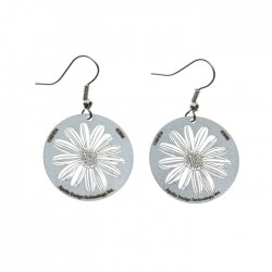 Apollo Gobo Earrings - Daisy