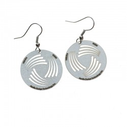 Apollo Gobo Earrings - Swirl Fans