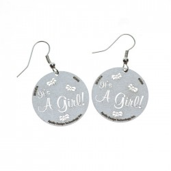 Apollo Gobo Earrings - It's A Girl