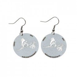 Apollo Gobo Earrings - Stork